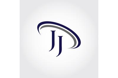 Monogram JJ Logo Design
