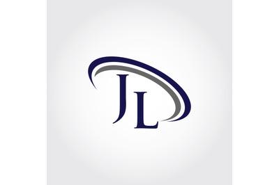 Monogram JL Logo design