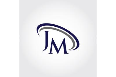 Monogram JM Logo Design