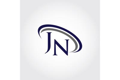 Monogram JN Logo Design