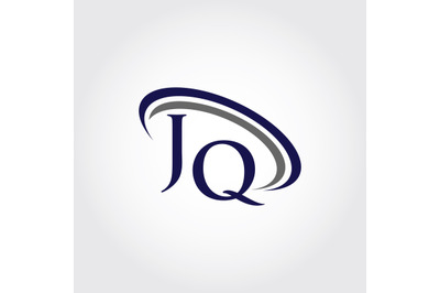 Monogram JQ Logo Design