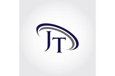 Monogram JT Logo Design