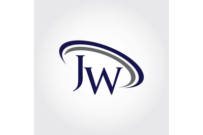 Monogram JW Logo Design