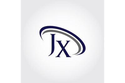Monogram JX Logo Design