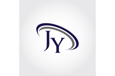 Monogram JY Logo Design