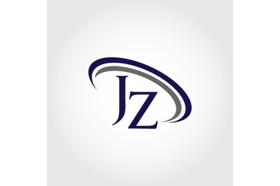 Monogram JZ Logo Design