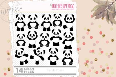 Panda Poses