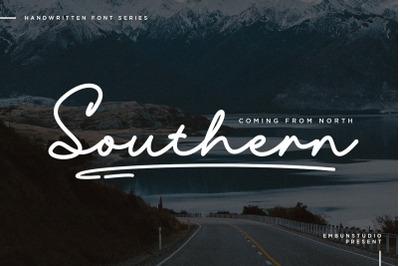 Southern Handwritten Font