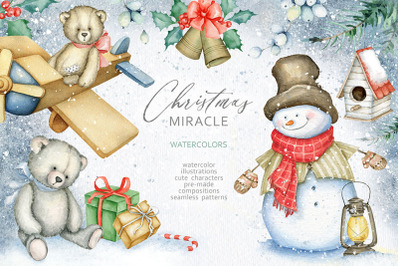 Christmas Miracle Watercolors SALE!
