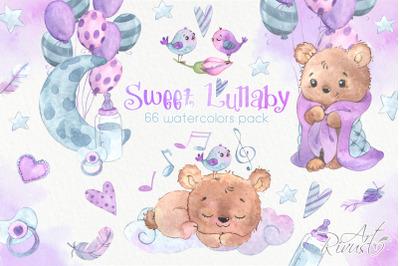 Newborn Teddy Bear PNG clipart download. Cute baby shower graphics. Lu