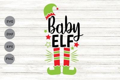 Baby Elf Svg, Christmas Svg, Elf Svg, Baby Svg, Elf Hat Svg, Funny Svg