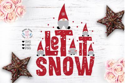 Let it Snow - Gnome SVG