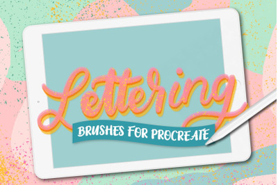 Procreate Lettering Brushes