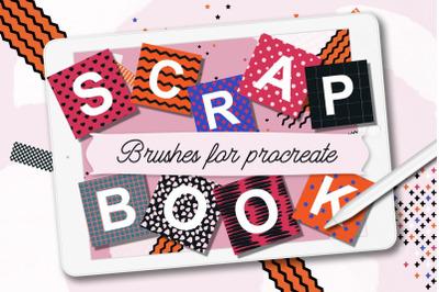 Procreate Scrapbook Stamp Brushes
