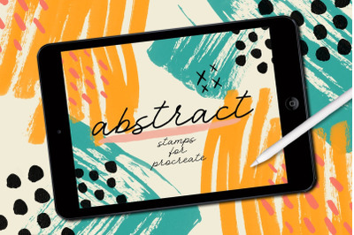 Procreate Abstract Stamp Brushes