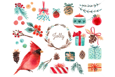 Holiday Watercolor Illustration