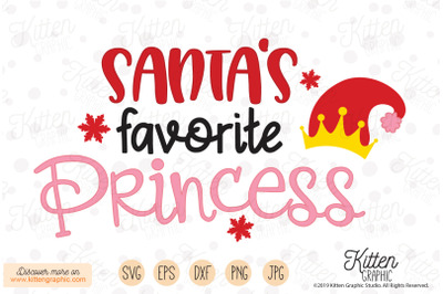Santa's Favorite Princess