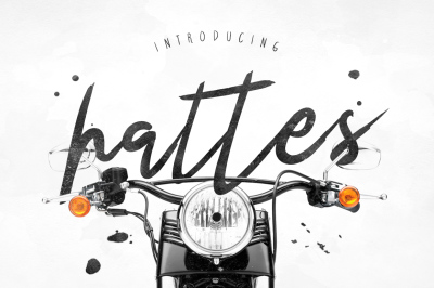 Hattes Typeface