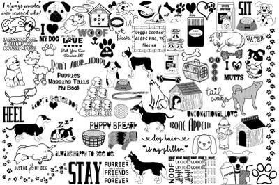 Doggie Doodles AI EPS PNG