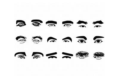men's eyes, male eyes svg, dxf, png, eps, cricut, silhouette, cut file