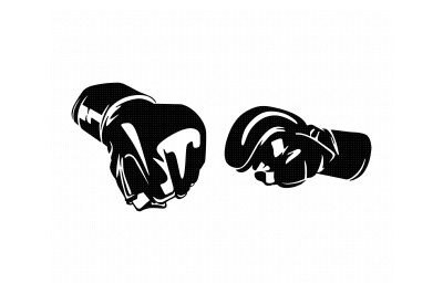 mma gloves svg, dxf, png, eps, cricut, silhouette, cut file, clipart