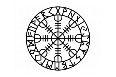 old norse protection rune, viking talisman svg, dxf, png, eps, cricut