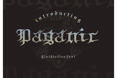 Paganic Blackletter Font