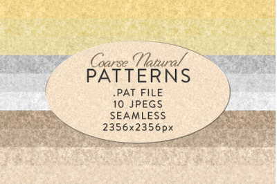 Seamless Coarse Natural Patterns