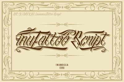 inuTattoo Script + Poster Vector