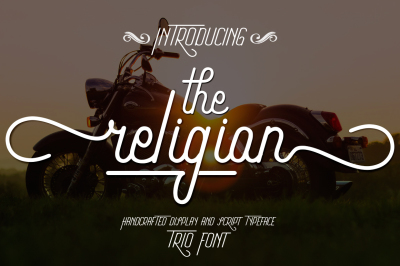 The Religion Trio Font