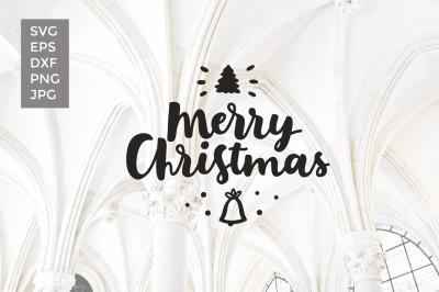 Merry Christmas vector cut files