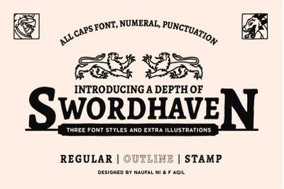 SWORDHAVEN Font