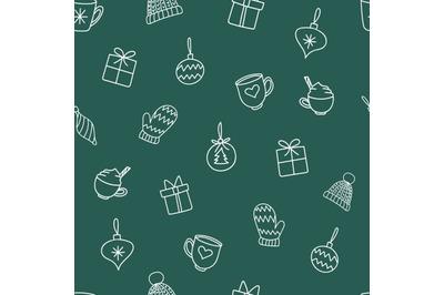 Christmas decorationsseamless repeatingpattern