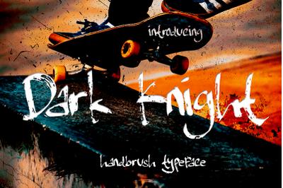 Dark Knight | Handbrush Typeface
