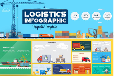 Logistics Infographic Keynote Template