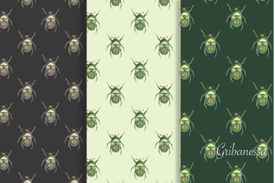 Patterns with beetles