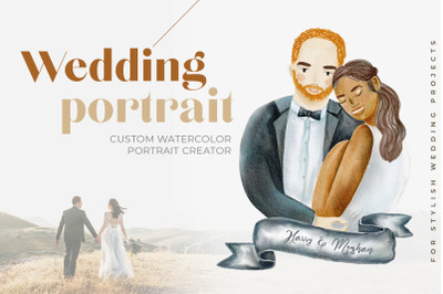 Custom Wedding Portrait Creator