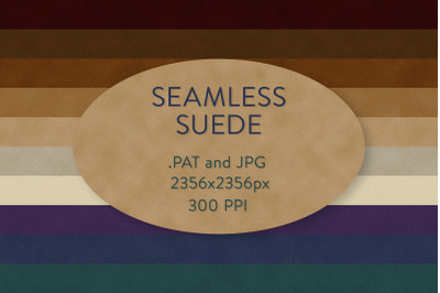 Seamless Faux Suede Patterns