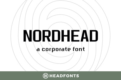 Nordhead Business & Corporate Font