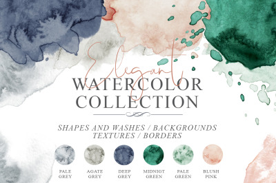 Elegant Watercolor Backgrounds