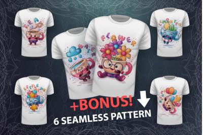 Cute cups - idea for print t-shirt