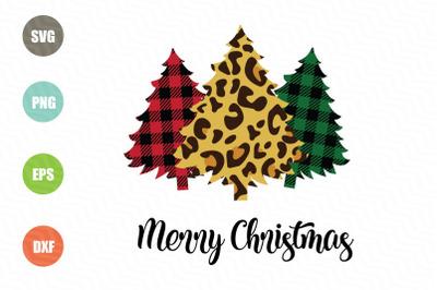 Merry Christmas SVG Christmas Trees