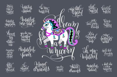 25 UNICORN QUOTES + 9 POSTERS