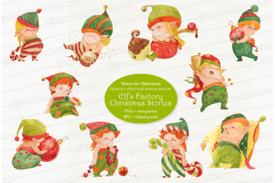 Elf's Factory Christmas Stories