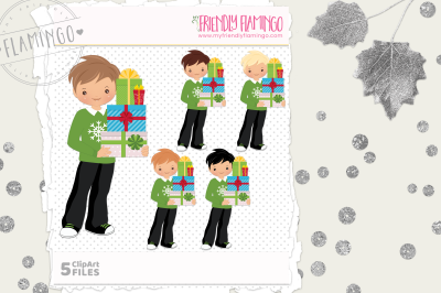 Gift Giving Boy