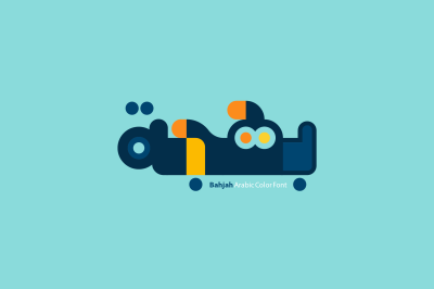 Bahjah - Arabic Color Font