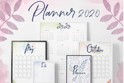 Planner and Calendars 2020