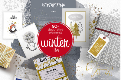 Winter Life ( big package)