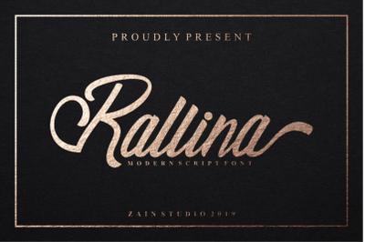 Rallina Script Font