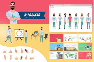 E - Trainer Keynote Template